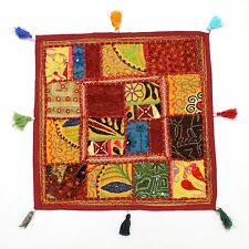 Indian Patchwork Home Decor Vintage Hippie Pillow Shams Couch Cushion Cover Case