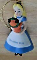 Disney's Alice in Wonderland made in Shri Lanka Christmas Ornament  Porcelain