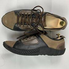Palladium Men's Suede Leather Low Beige Black Sneaker Shoes - Size EU 43 US 9