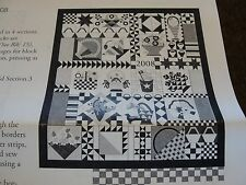 PIECE & PLENTY BOM Applique Quilt Kit from Moda University 66x76""