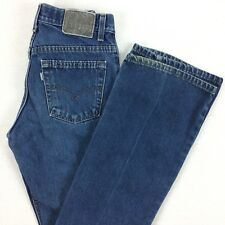 Vintage SilverTab LEVIs Hipster Boot Cut Jeans Womens 28 x 31 Medium Wash VTG