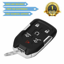 Case For Chevrolet Suburban Tahoe Gmc Yukon 2017 2016 Smart Remote Key Fits