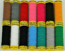 Gutermann Elastic thread 10mts Assorted Colours