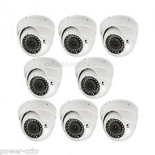 Am 1300TVL CMOS CCD 36IR 2.8-12mm Vari-Focal Zoom Lens Security Camera Free AC