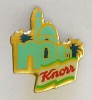 Knorr Food Maker Souvenir Advertising Pin Badge France Vintage (G9)