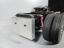 Aluminum Rear Bumper Plate for Tamiya RC 1/14 Globe Liner Semi Truck