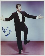 DEAN MARTIN SIGNED AUTOGRAPHED COLOR 8X10 PHOTO BAS BECKETT COA WOW!!