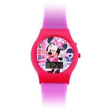 Minnie Mouse Girls Digital LCD Watch Girls Disney Wrist Watch - Purple