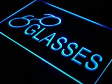 "16""x12"" i402-b Glasses Optical Eye Care Shop Wall Decor LED Neon Signs"