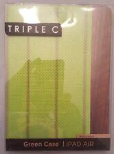 Triple C Green iPad Air Case ~ Green