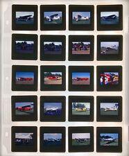 Lot 20 Kodak Kodachrome Slide Propeller Plane Aviation Airplane Aircraft Air