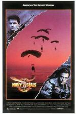 NAVY SEALS-2-sided orig Movie Poster-CHARLIE SHEEN-1990