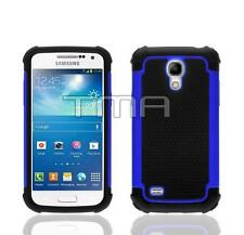 Impact Hybrid Shock Proof Case Cover For Samsung Galaxy S4 Mini i9190 - Blue