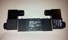 """Pneumatik Ventil 5/2 IG1/4"""" 24 Volt bistabil ET4V220-08-24VDC-BLCH"""