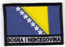 [Patch] BOSNIA ERZEGOVINA cm 7x5 toppa ricamata ricamo BOSNA I HERCEGOVINA -040
