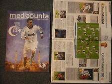 Real madrid cf v galatasaray sk programme 3.4.2013 uefa champions league 1/4