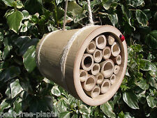 HANGING BUG HOUSE -Insect Hotel -Bug Box -For bees, ladybirds.. -Handmade In UK!