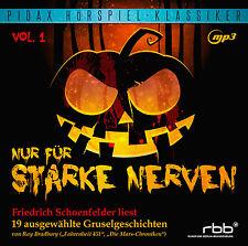 Nur für starke Nerven - CD Friedrich Schoenfelder Hörspiel MP3-CD Pidax Neu Ovp