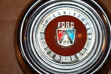 1953 Ford 50th Anniversary center horn button-Complete