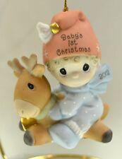 Precious Moments Ornament Baby'S 1st Xmas Boy 2012 121006 Bx FreeusaShp