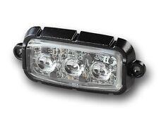 2 x 911Signal FireFly LED Frontblitzer Straßenräumer Zulassung Blau Warnleuchte