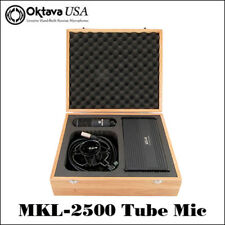Oktava MKL-2500 Pro Tube Recording Mic - Russian Power Supply, Russian Mic - New
