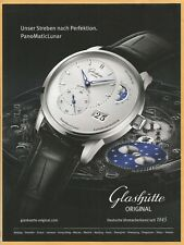 Glashuette Original -Panoramadatum- German watch since 1845 - Print Ad
