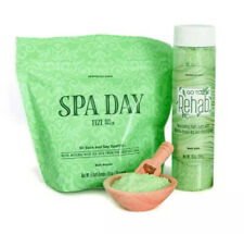 Perfectly Posh Go To Rehab Bath Salts + Spa Day Fizi's 6 Bath Bombs