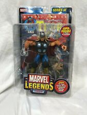 Marvel Legends THE MIGHTY THOR SERIES III NIB WITH COMIC BOOK AND STAND