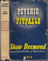 1950 Vtg Psychical Pitfalls Shaw Desmond Research Mediumship Seance Spiritualism