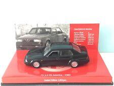 MINICHAMPS 1:43 Alfa Romeo 75 3.0 V6 America 1989 Black Model Nr. 403 120463