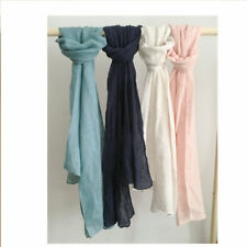 100% French Linen Scarves long scarf 65 X 220CM