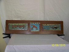 """New listing Harris Strong Master Listed Ceramist Mid Century Hand Crafted Tiles """"Coa"""""""