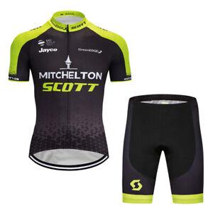 2020 Pro Cycling Jersey Shorts Kits Short Sleeve Riding Shirt Short Pants Sets