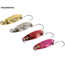 4pcs/lot Metal Spoon Fishing Lure Spinner 1.5g/2.5g/3.5g Crank Bait Bass Trout