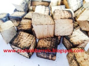 Oak Cubes, Oak Chips for Ageing Home-brew Spirits, Beer, Wine, Whiskey