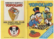 "Walt Disney - Topolino spec. ""La grande scelta"" (1971)"