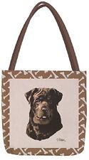Sephia Dogs Rottweiler Tote Bag