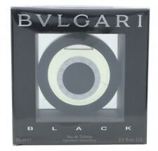 BVLGARI BLACK EAU DE TOILETTE 75ML SPRAY. NEW. FREE SHIPPING