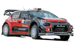 CITROEN C3 WRC rally car Meeke / Nagle winners Mexico 2017 1:18th Norev 181632