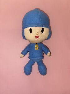"Bandai Plush Pocoyo Stuffed Plush 6"" Toys Doll Soft Figure Toy for Kids"