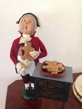 Byers Choice Gingerbread Vendor1996, Cries Of London Series