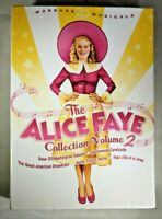 The Alice Faye Collection Vol. 2 (DVD, 2008, 5-Disc Set New/Sealed Free shipping