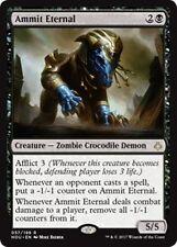 AMMIT ETERNAL Hour of Devastation MTG Black Creature—Zombie Crocodile Demon Rare