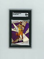 2018-19 Revolution 1st YR LAKERS CARD LEBRON JAMES! (SGC GRADED 9 MINT) ICONIC