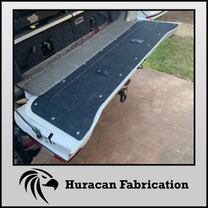 100 series landcruiser tailgate storage with marine carpet fzj105 hzj105 hdj100