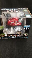 Rally Car Blue Hat RC Thunder Tumbler - Rotates 360 degrees Age 6