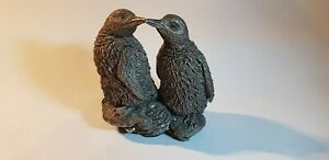 Penguins Filled Sterling Silver Hallmarked Country Artist