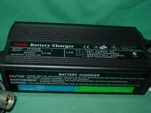 Battery Charger Pride Jazzy Mobility Scooter HP8204B 24V 5A Powerchair