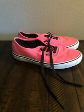 Vans Classic Mens Size 7.5 Womens Size 9 Shoes Pink White